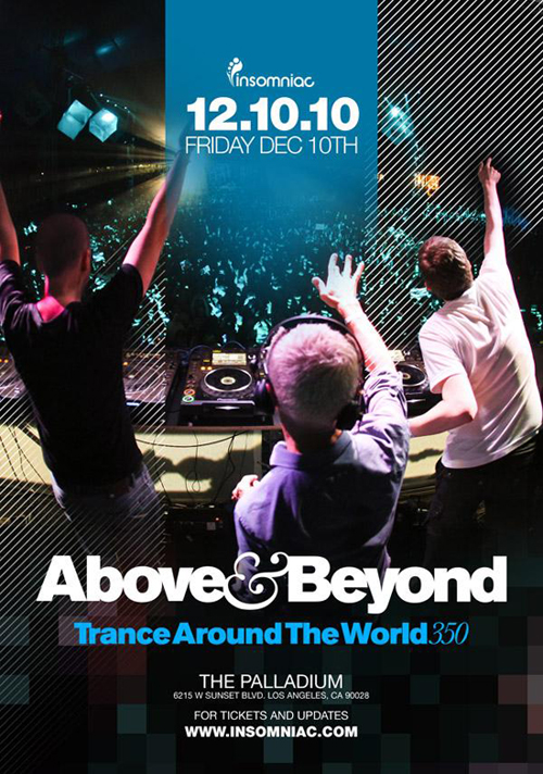 Above & Beyond  Trance Around the WOrld 350 at the Hollywood Palladium