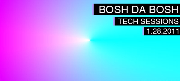 DJ BoshDaBosh Tech Sessions