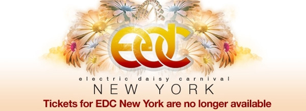 EDC Electric Daisy Carnival 2012 New York Tickets Lineup