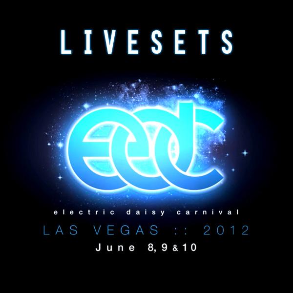 Afrojack Liveset at Electric Daisy Carnival Las Vegas 2012