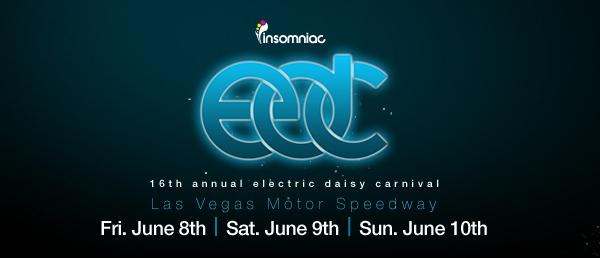 Insomniac EDC Las Vegas 2012 Schedule Announced